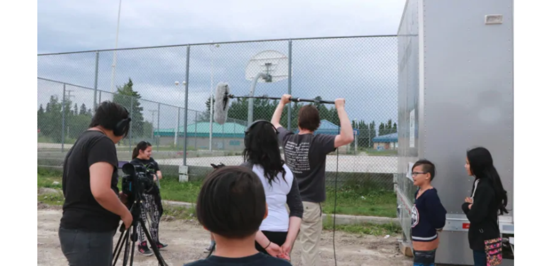 """First Nations filmmaking project rolls into Pelican Narrows, Sask."" – CBC News"
