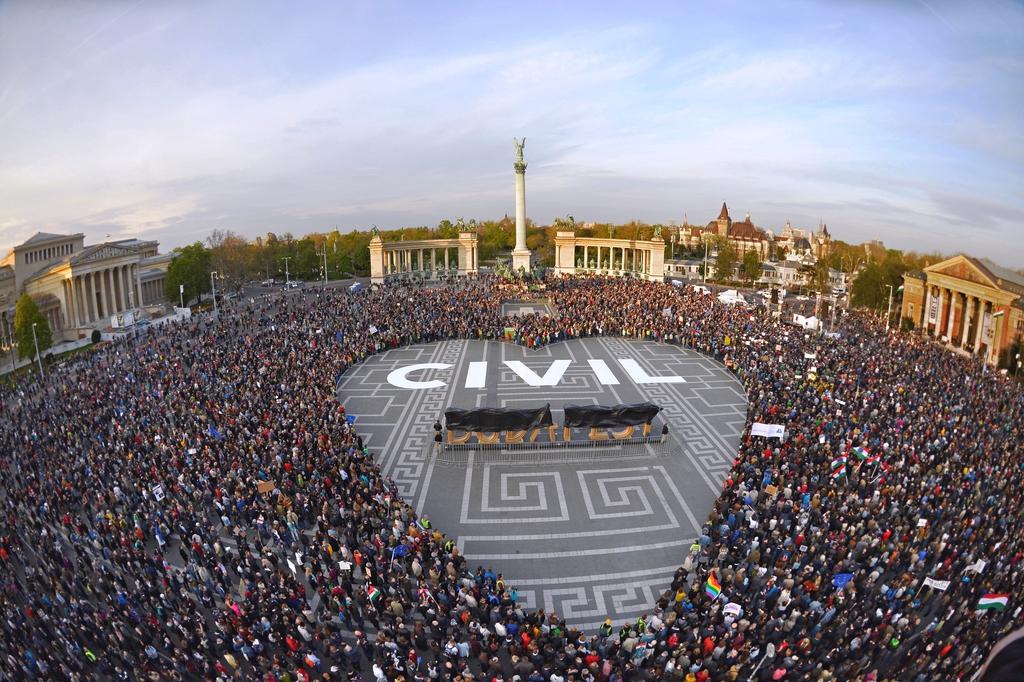 Civilizáció Protest 2017 Budapest